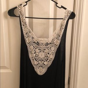 Forever 21 Lace High / Low Dress